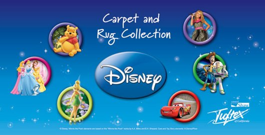 Disney Exclusives Tuftex Themed Carpeting Click On